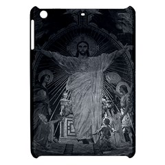 Vintage France Paris Sacre Coeur Basilica dome Jesus Apple iPad Mini Hardshell Case