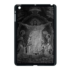 Vintage France Paris Sacre Coeur Basilica dome Jesus Apple iPad Mini Case (Black)