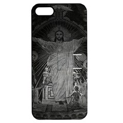 Vintage France Paris Sacre Coeur Basilica dome Jesus Apple iPhone 5 Hardshell Case with Stand