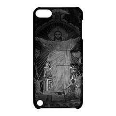 Vintage France Paris Sacre Coeur Basilica dome Jesus Apple iPod Touch 5 Hardshell Case with Stand