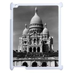 Vintage France Paris The Sacre Coeur Basilica 1970 Apple iPad 2 Case (White)