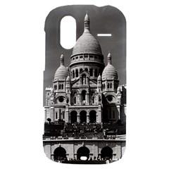 Vintage France Paris The Sacre Coeur Basilica 1970 HTC Amaze 4G Hardshell Case