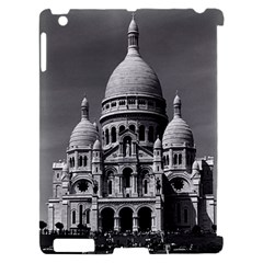 Vintage France Paris The Sacre Coeur Basilica 1970 Apple iPad 2 Hardshell Case (Compatible with Smart Cover)