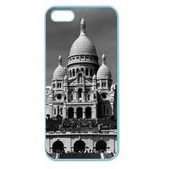 Vintage France Paris The Sacre Coeur Basilica 1970 Apple Seamless Iphone 5 Case (color)