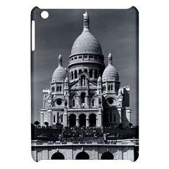 Vintage France Paris The Sacre Coeur Basilica 1970 Apple iPad Mini Hardshell Case