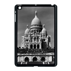 Vintage France Paris The Sacre Coeur Basilica 1970 Apple iPad Mini Case (Black)