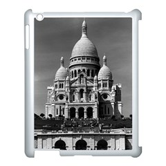 Vintage France Paris The Sacre Coeur Basilica 1970 Apple Ipad 3/4 Case (white)
