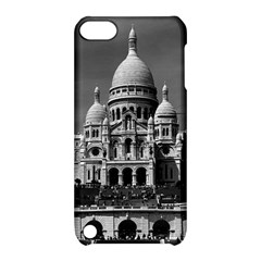 Vintage France Paris The Sacre Coeur Basilica 1970 Apple Ipod Touch 5 Hardshell Case With Stand