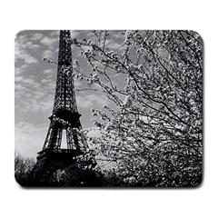 Vintage France Paris Eiffel Tour 1970 Large Mouse Pad (rectangle)