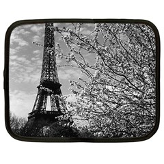 Vintage France Paris Eiffel tour 1970 12  Netbook Case