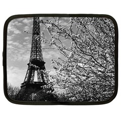 Vintage France Paris Eiffel Tour 1970 13  Netbook Case
