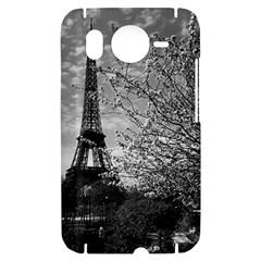 Vintage France Paris Eiffel tour 1970 HTC Desire HD Hardshell Case