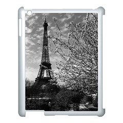 Vintage France Paris Eiffel Tour 1970 Apple Ipad 3/4 Case (white)