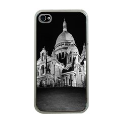 Vintage France Paris The Sacre Coeur Basilica 1970 Apple Iphone 4 Case (clear)