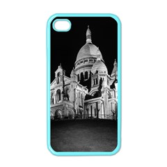 Vintage France Paris The Sacre Coeur Basilica 1970 Apple Iphone 4 Case (color)