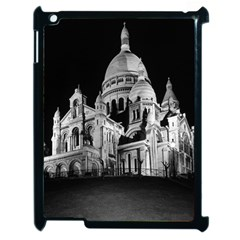 Vintage France Paris The Sacre Coeur Basilica 1970 Apple iPad 2 Case (Black)