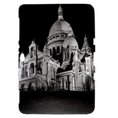 Vintage France Paris The Sacre Coeur Basilica 1970 Samsung Galaxy Tab 8.9  P7300 Hardshell Case