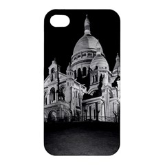 Vintage France Paris The Sacre Coeur Basilica 1970 Apple Iphone 4/4s Premium Hardshell Case