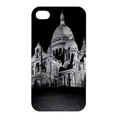 Vintage France Paris The Sacre Coeur Basilica 1970 Apple iPhone 4/4S Premium Hardshell Case