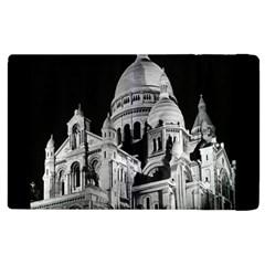Vintage France Paris The Sacre Coeur Basilica 1970 Apple Ipad 3/4 Flip Case
