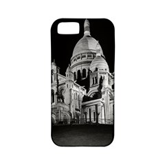 Vintage France Paris The Sacre Coeur Basilica 1970 Apple Iphone 5 Classic Hardshell Case (pc+silicone)