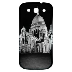 Vintage France Paris The Sacre Coeur Basilica 1970 Samsung Galaxy S3 S III Classic Hardshell Back Case