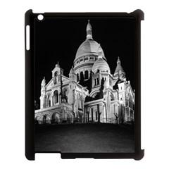 Vintage France Paris The Sacre Coeur Basilica 1970 Apple iPad 3/4 Case (Black)