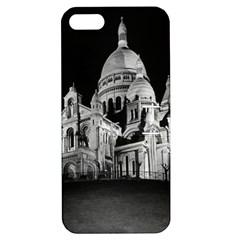 Vintage France Paris The Sacre Coeur Basilica 1970 Apple Iphone 5 Hardshell Case With Stand