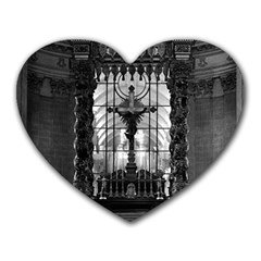 Vintage France Paris royal chapel altar St James Palace Mouse Pad (Heart)