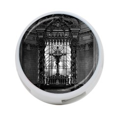 Vintage France Paris Royal Chapel Altar St James Palace Single Sided 4 Port Usb Hub (round)