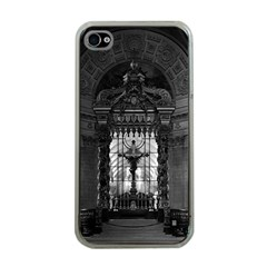 Vintage France Paris Royal Chapel Altar St James Palace Apple Iphone 4 Case (clear)