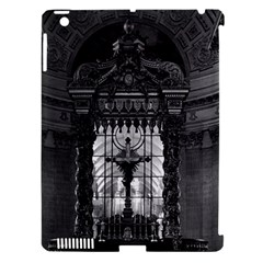 Vintage France Paris royal chapel altar St James Palace Apple iPad 3/4 Hardshell Case (Compatible with Smart Cover)