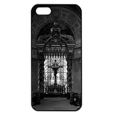 Vintage France Paris royal chapel altar St James Palace Apple iPhone 5 Seamless Case (Black)