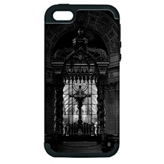Vintage France Paris royal chapel altar St James Palace Apple iPhone 5 Hardshell Case (PC+Silicone)