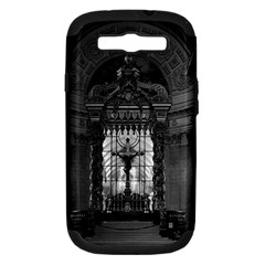 Vintage France Paris royal chapel altar St James Palace Samsung Galaxy S III Hardshell Case (PC+Silicone)