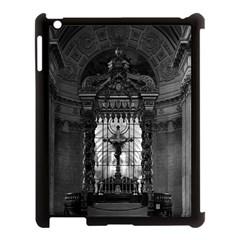 Vintage France Paris royal chapel altar St James Palace Apple iPad 3/4 Case (Black)