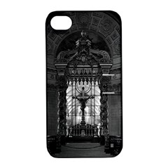 Vintage France Paris royal chapel altar St James Palace Apple iPhone 4/4S Hardshell Case with Stand
