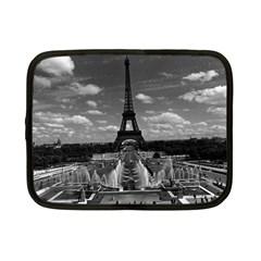 Vintage France Paris Fontain Chaillot Tour Eiffel 1970 7  Netbook Case