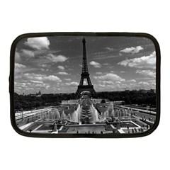 Vintage France Paris Fontain Chaillot Tour Eiffel 1970 10  Netbook Case