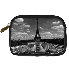 Vintage France Paris Fontain Chaillot Tour Eiffel 1970 Compact Camera Case
