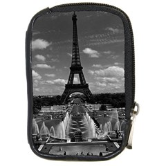 Vintage France Paris Fontain Chaillot Tour Eiffel 1970 Digital Camera Case