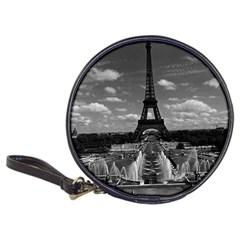 Vintage France Paris Fontain Chaillot Tour Eiffel 1970 CD Wallet