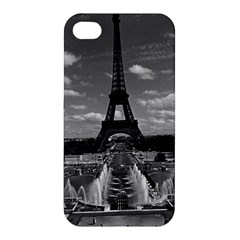Vintage France Paris Fontain Chaillot Tour Eiffel 1970 Apple Iphone 4/4s Hardshell Case