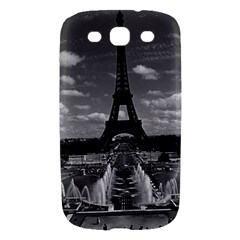 Vintage France Paris Fontain Chaillot Tour Eiffel 1970 Samsung Galaxy S III Hardshell Case