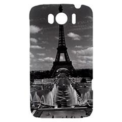 Vintage France Paris Fontain Chaillot Tour Eiffel 1970 HTC Sensation XL Hardshell Case