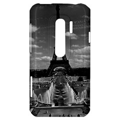 Vintage France Paris Fontain Chaillot Tour Eiffel 1970 HTC Evo 3D Hardshell Case