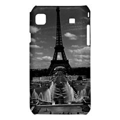 Vintage France Paris Fontain Chaillot Tour Eiffel 1970 Samsung Galaxy S i9008 Hardshell Case