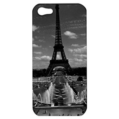 Vintage France Paris Fontain Chaillot Tour Eiffel 1970 Apple iPhone 5 Hardshell Case