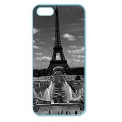 Vintage France Paris Fontain Chaillot Tour Eiffel 1970 Apple Seamless Iphone 5 Case (color)