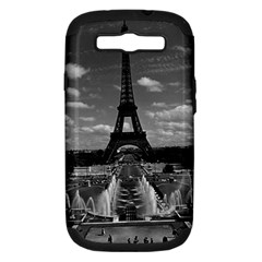 Vintage France Paris Fontain Chaillot Tour Eiffel 1970 Samsung Galaxy S Iii Hardshell Case (pc+silicone)